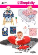 4225 Simplicity Pattern: Baby Accessories
